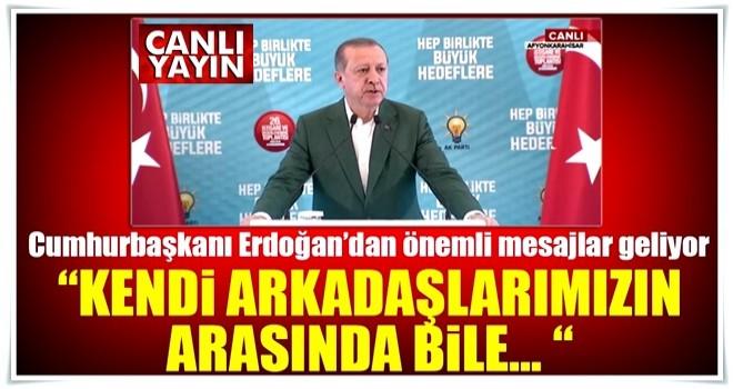 Cumhurbaşkanı Erdoğan Afyonkarahisar Kampı'nda konuşuyor - CANLI