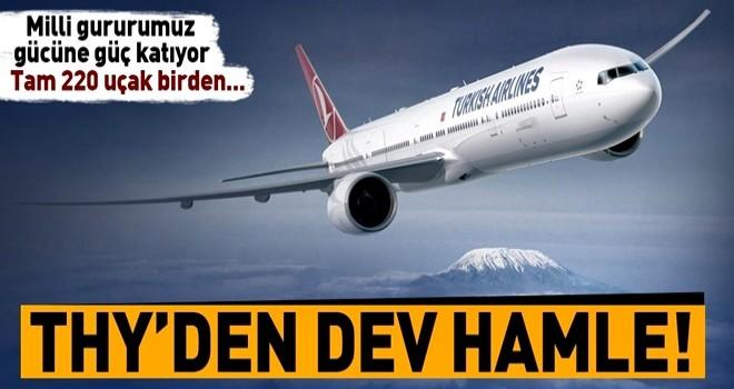 THY, 5 yıl içinde filosuna 220 yeni uçak katacak .