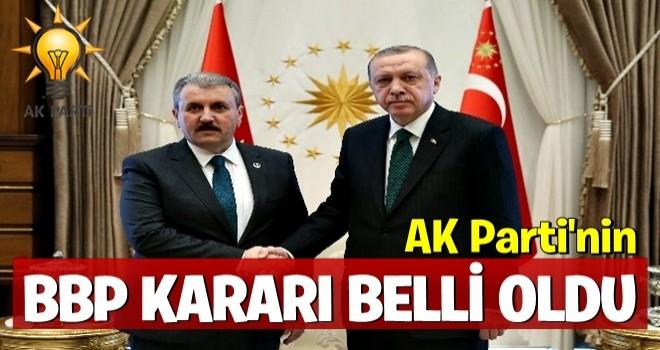 AK Parti'nin BBP kararı belli oldu!