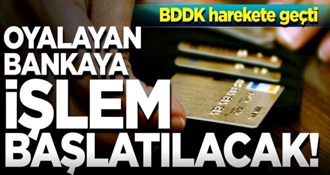 Kredi kartını iptal etmemek için oyalayan banka hakkında işlem başlatılacak!