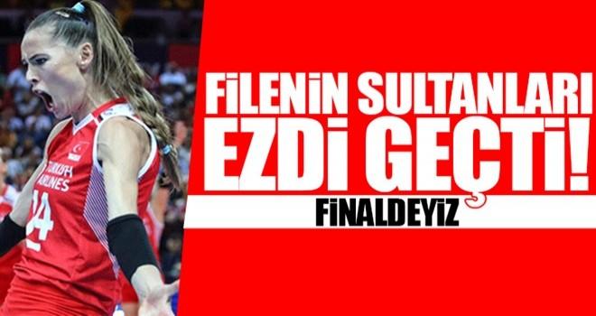 Filenin Sultanları Avrupa finalinde