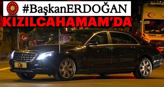 Başkan Erdoğan Kızılcahamam'da
