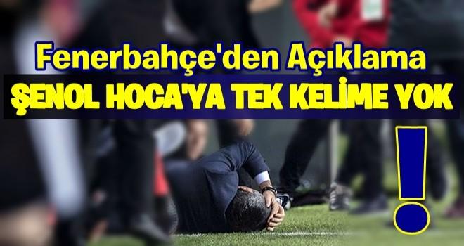 Fenerbahçe'den açıklama: