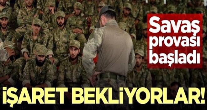 ÖSO Fırat'ın doğusu için Türkiye'den işaret bekliyor!