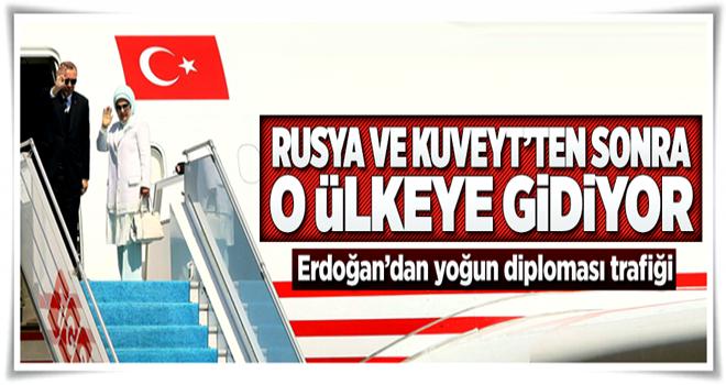 Cumhurbaşkanı Erdoğan Katar'a gidecek  .