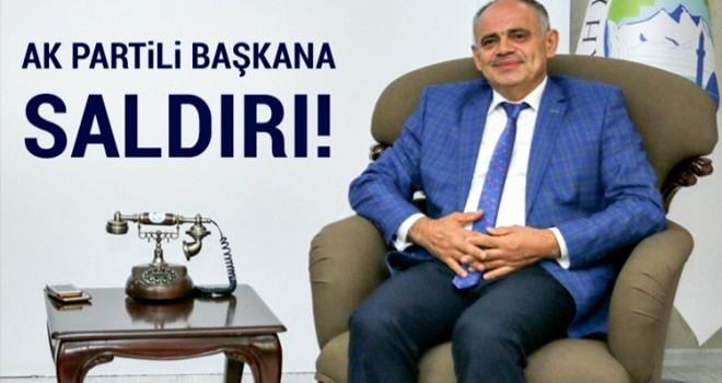AK Partili Belediye Başkanı'na bıçaklı saldırı