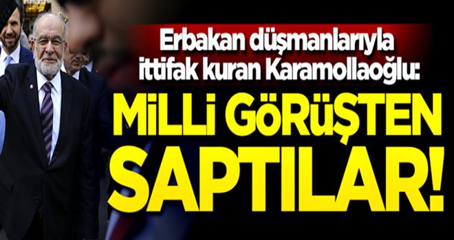 Karamollaoğlu: AK Parti Milli Görüşten saptı