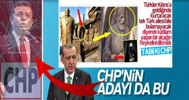 Başkan Erdoğan'dan İmamoğlu'na heykel tepkisi