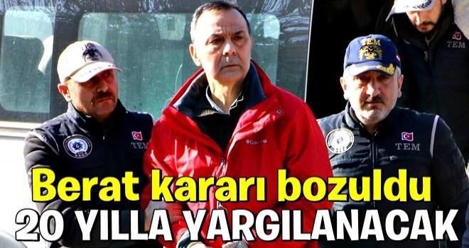 Darbe girişimi sanığı eski korgeneral Metin İyidil'in beraat kararını Yargıtay bozdu