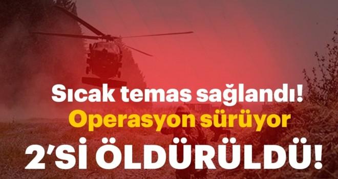 Son dakika: Gümüşhane'de operasyonda 2 terörist etkisiz hale getirildi