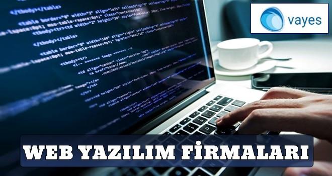 Web Yazılım Firmaları..