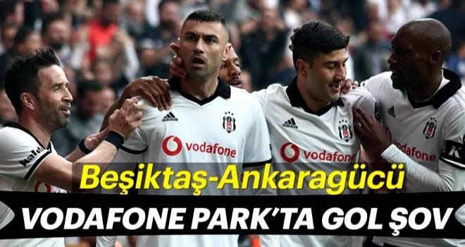 Beşiktaş evinde Ankaragücü'nü 4-1 mağlup etti