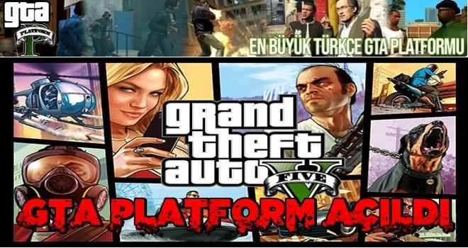 En büyük Türkçe GTA Platform Açıldı..