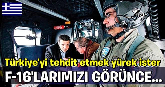 Çipras'ı Türk F-16'larını görünce paniğe kapıldı