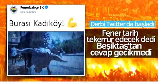 Derbi öncesi F.Bahçe ve Beşiktaş'ın video paylaşımları