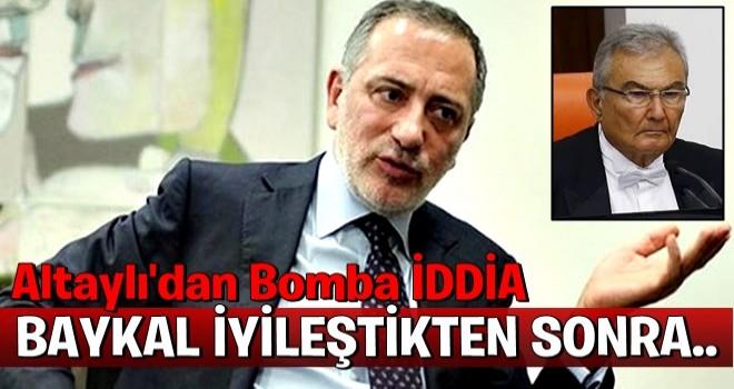 Fatih Altaylı'dan Deniz Baykal bombası