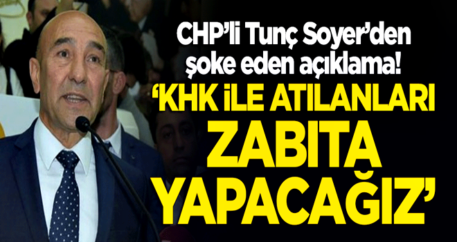 Tunç Soyer'in ilk icraatı FETÖ'cü ve PKK'lılara kucak açmak oldu