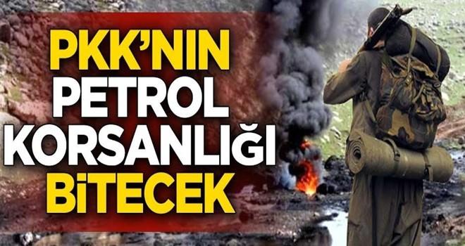 PKK'nın petrol korsanlığı bitecek!