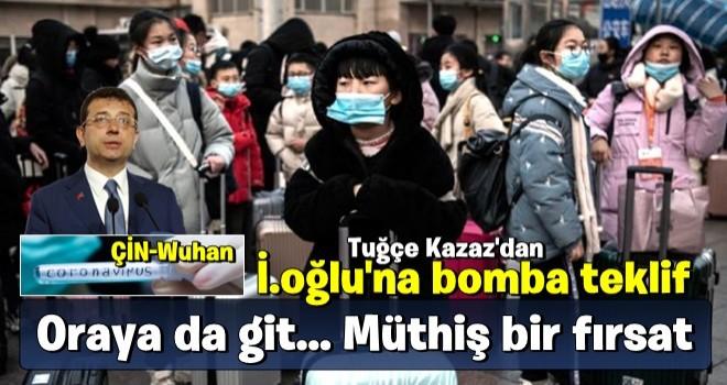 Tuğçe Kazaz'dan İmamoğlu'na bomba teklif: Oraya da git... Müthiş bir fırsat!