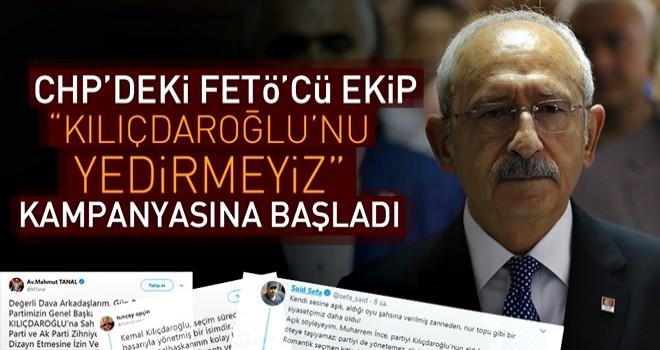FETÖ Kılıçdaroğlu'na kalkan oluyor .