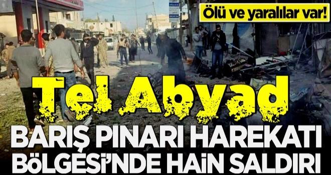 Tel Abyad'da bombalı saldırı! Çok sayıda ölü ve yaralı var