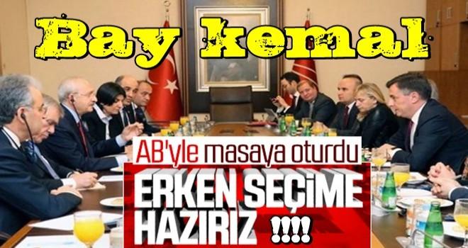 Kılıçdaroğlu: Türkiye AB'den uzaklaştı...