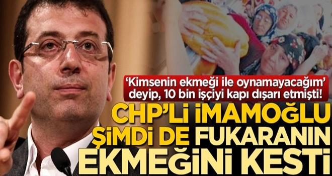 Ekrem İmamoğlu sözleşmeyi yenilemedi vatandaş ekmeksiz kaldı!
