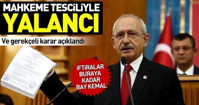 Kılıçdaroğlu'nun mahkum edildiği Man Adası davanın gerekçeli kararı açıklandı .