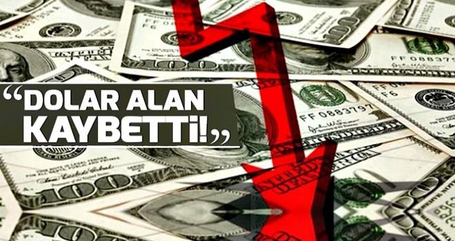 DİLEK GÜNGÖR ;  Dolar alan kaybetti