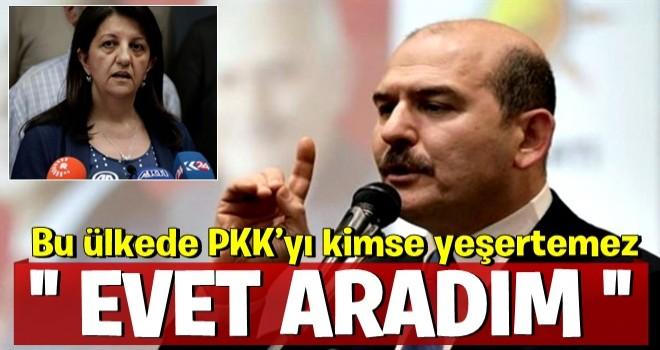 Bakan Soylu: Pervin Buldan'ı aradım