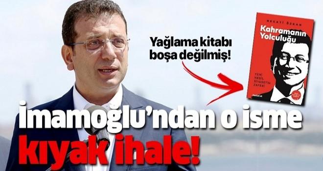Ekrem İmamoğlu'nun reklamcısına 10 Milyonluk ihale