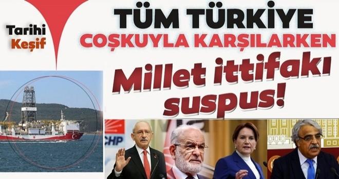 Türk enerji tarihinde milat! Millet ittifakı suskun...