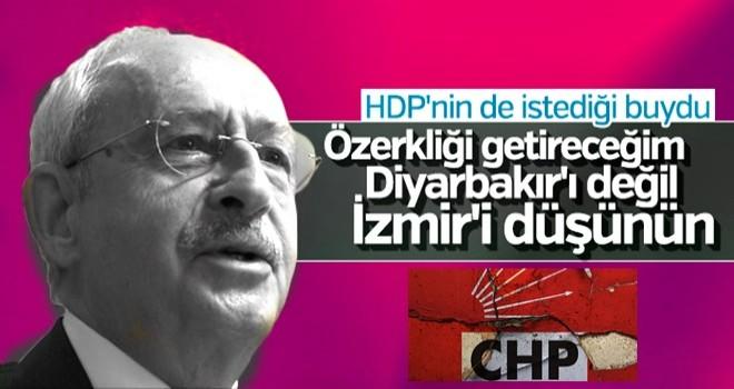 Kemal Kılıçdaroğlu'nun özerklik sözü