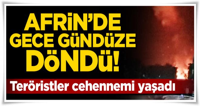 Türk jetleri YPG'nin sözde komuta merkezini yerle bir etti