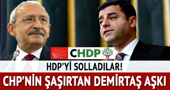 CHP'liler Demirtaş'la HDP'liler'den daha fazla görüşmüş