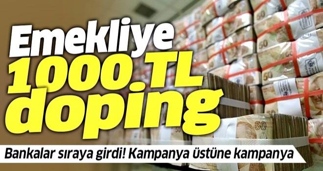 Emekliye 1000 liralık promosyon dopingi! Hangi banka emekliye ne kadar promosyon veriyor?