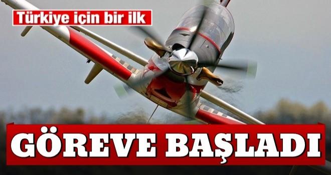 Türkiye için bir ilk! Hürkuş göreve başladı
