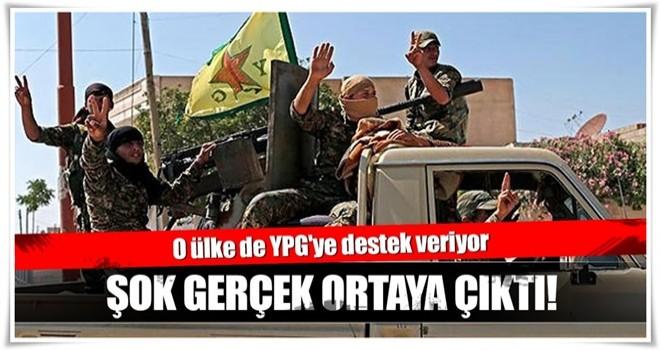 Şok gerçek ortaya çıktı! O ülke de YPG'ye destek veriyor