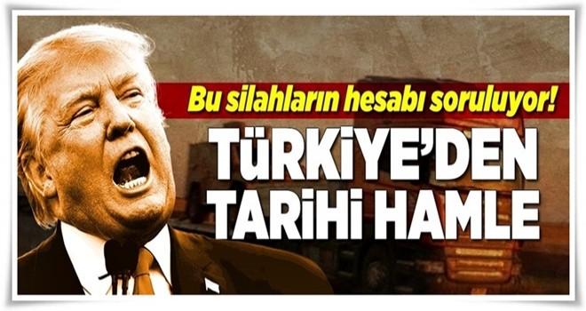 Türkiye ABD'ye dava açıyor .
