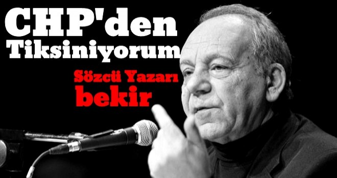CHP'deki kurultay tartışmaları Bekir Coşkun'u bıktırdı
