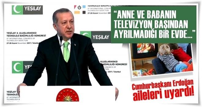 Cumhurbaşkanı Erdoğan'dan Teknoloji Bağımlılığı Kongresi'nde flaş açıklamalar