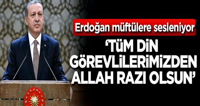 Başkan Erdoğan ;