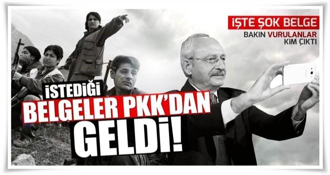 Kılıçdaroğlu ve Tanrıkulu'nun istediği şok belgeler PKK'dan geldi!
