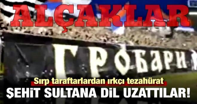 Partizan taraftarından ırkçı tezahürat!