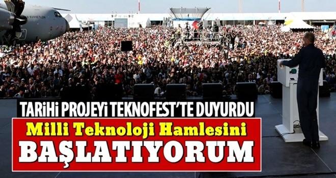 Cumhurbaşkanı Erdoğan TEKNOFSET'te konuştu