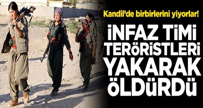 Kandil'de İNFAZ ! Teröristleri yakarak öldürdüler...