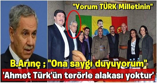 Bülent Arınç'ın Ahmet Türk çıkışı sosyal medyayı ayağa kaldırdı