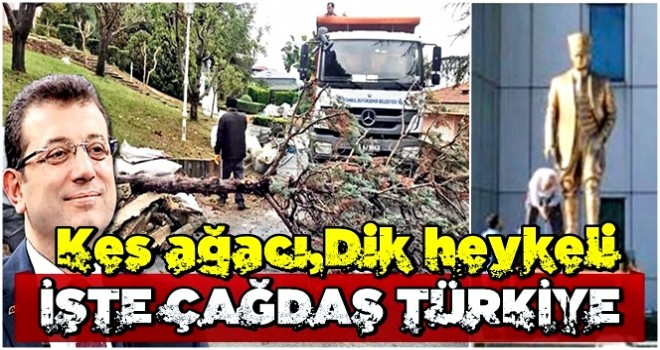 İşte çağdaş Türkiye!