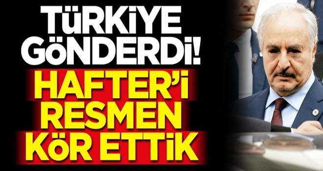 Darbeci Hafter destekçisi BAE ve Mısır'a büyük şok! Türkiye'nin gönderdiği sistem savaş uçaklarını kör etti