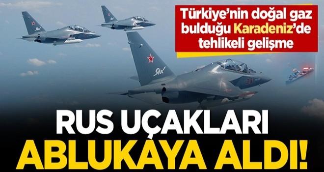 Karadeniz'de ABD ve Rusya arasında tehlikeli gerilim: Rus jetleri ABD uçağını ablukaya aldı
